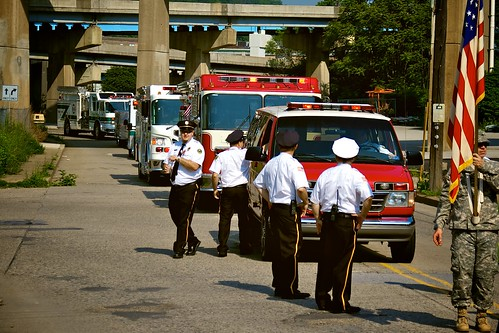 Memorial Day Parade 2011:  Emergency vehicles.