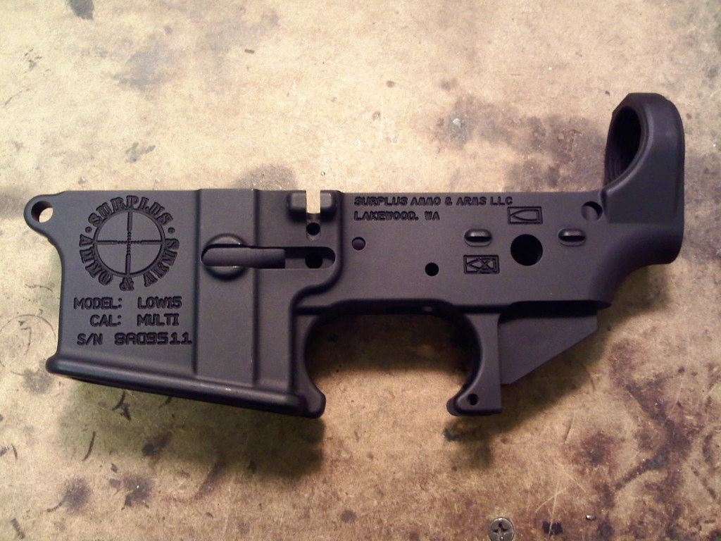 Pictures of lower receivers - AR-15 Discussion