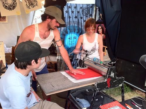Making tshirts