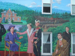 Sussex royal mural