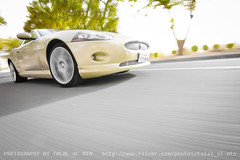 (Talal Al-Mtn) Tags: sport yellow photography gold body chrome jag kit jaguar exhaust hks kuwaitcity xke xkr xk kwt  jaguarxk bodykits kuwaitcars  jaguarsupercharged talalalmtn   talalalmtnphotography jaguarxkrs2009 startik