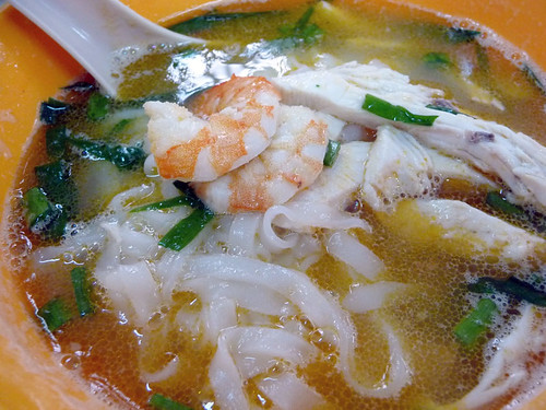 Ipoh Thean Chun - famous chicken kuey teow soup