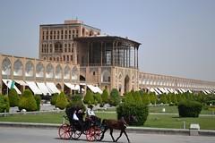 Ali Qapu Palace_Isfahan (Hamidreza Yousefi) Tags: iran persia palace esfahan isfahan اصفهان ايران كاخ aliqapu درشكه قاپو جهانعالي d3100nikonنقش naqshejahansquarecarriagenikon