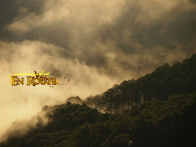 The dramatic clouds lending cinematic misty scenes
