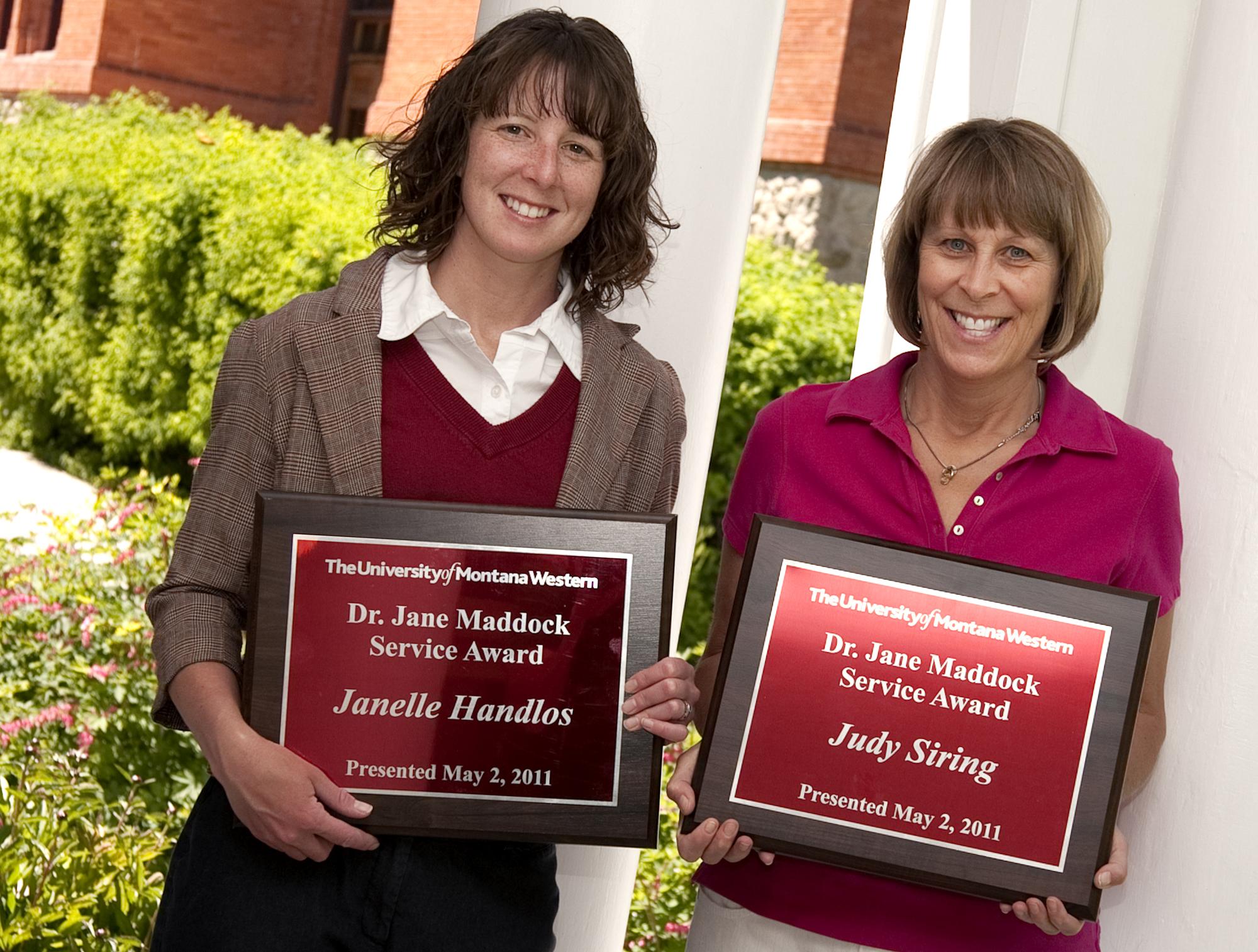 maddock award 2011