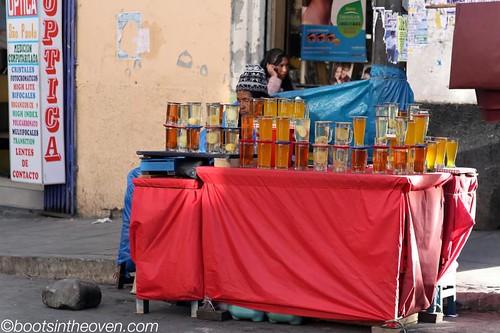Mocochinchi - refreshing street drink