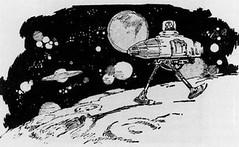 Horner Eon Flint Suggested a Walking Lunar Rover in 1923 (NASA APPEL) Tags: 1920s moon gm rover nasa novel moonwalk generalmotors lunarrover apollo15 moonbuggy moonbuggie lunarroving hornereonflint