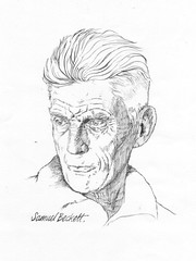 "Line drawing of Samuel Beckett • <a style=""font-size:0.8em;"" href=""http://www.flickr.com/photos/64357681@N04/5867117728/"" target=""_blank"">View on Flickr</a>"