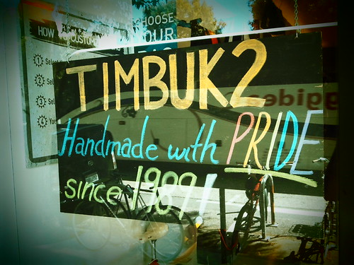 Timbuk2 Retail Store Pride 2011