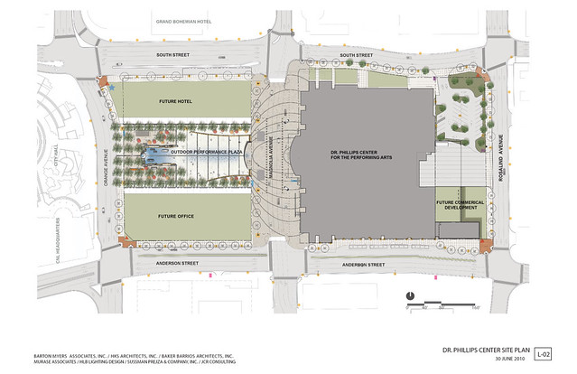 Dr Phillips Performing Arts Center Master Plan
