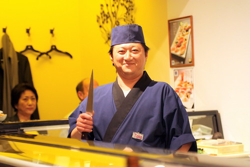 Don't Mess With A Sushi Chef