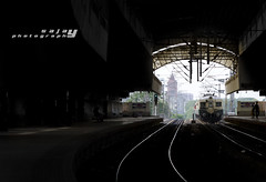 Chennai Metro Rail .. (Sajay Sankaran) Tags: india station train nikon metro tracks rail chennai railways tamilnadu sajay sajays d5100 chindaripet
