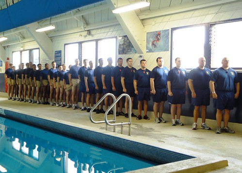 PCU San Diego Sailors Complete Search and Rescue Swimmer Course