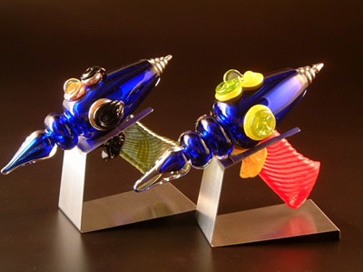 Glass Raygunz by Jeff Burnette