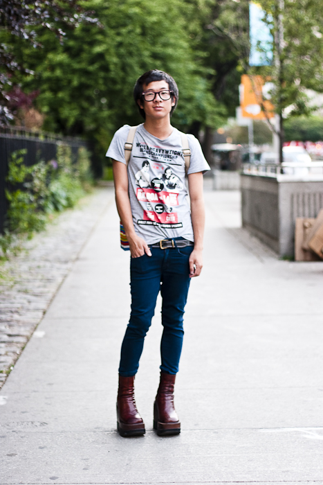 Adrian, Street Fashion @ University Avenue, Toronto