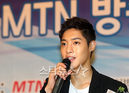 Kim Hyun Joong MTN TV Commercial Award Ceremony [22.06.11]