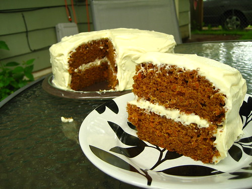 Classic Carrot Cake with Dreamy Creamy White Chocolate Fosting
