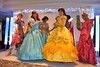 Meeting the Disney Princesses at the Princess and Pirates Breakfast at the Disneyland Hotel's Founder's Club