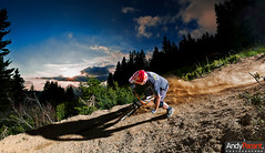 Max: petite gicle (andyparant.com) Tags: sunset mountain france bike mountainbike downhill dh mtb vtt vlo