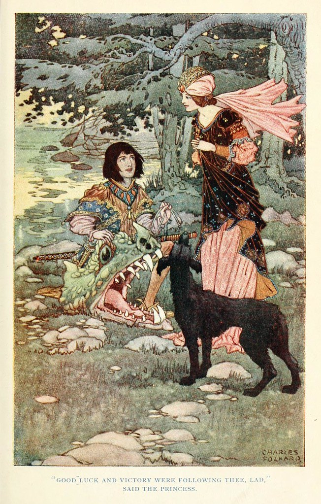 Charles James Folkard - British fairy and folk tales 3