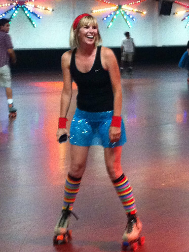 @according2kelly roller skating diva
