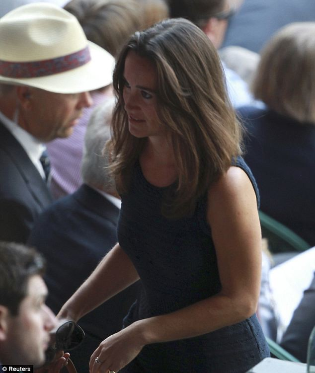 Pippa Middleton causes a stir on Wimbledon's Centre Court yet again   5