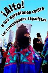 Alto a las agresiones contra las comunidades z...