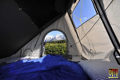 Superior AUTOHOME Columbus Variant Roof Top Tent Copyright 2014 Bernhard Egger ::  Eu Moto Images