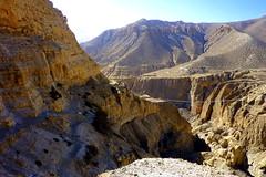 Steiler Aufstieg (Alfesto) Tags: nepal trekking himalaya samar chele hngebrcke syanboche uppermustang ghyakar knigreichmustang