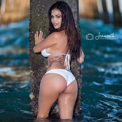 Bikini latina model