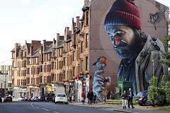 - Glasgow 2016 - (Jacqueline ter Haar) Tags: glasgow smug smugone highstreet mural photorealistic muurschildering painting streetart