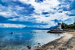 Sant'Elia (PA) (alessandrochiolo) Tags: colours color sky blusky cielo sea spiaggia colori mare palermo aspra bagheria santelia nikkor nikon d3300 sicilia