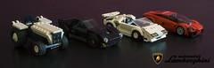 Automobili Lamborghini history (LEGO_MOCkingJ) Tags: lamborghini cars supersport lego moc speed champions