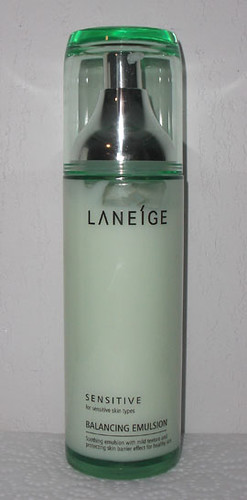 Laneige's Sensitive Balancing Emulsion