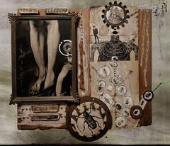 l'émotion est un mystère (laboratoire de l'hydre) Tags: sculpture collage metal painting de noir assemblage ange ernst peinture contraste dada impressions tableau duchamp objets rouille brut rauschenberg laboratoire platre récupération fache élisa détournés altrafotografia lhydre