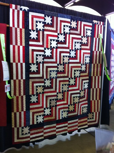 2011 Dallas Quilt Show- stars and stripes