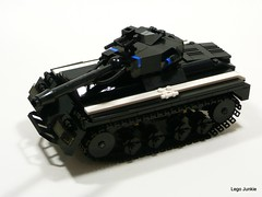 Jaguar Heavy Tank. (Lego Junkie.) Tags: last stand tank lego jaguar ba heavy diorama brickarms