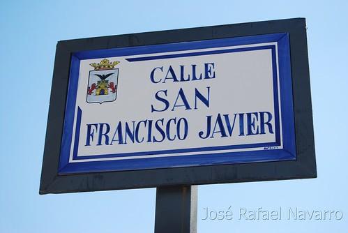 Placas: Calle San Francisco Javier