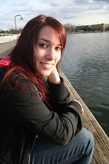 (Erika.Bee) Tags: woman cute girl sunshine lady pretty heather adorable redhair darkclouds