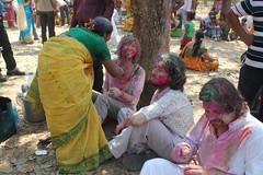 Santiniketan / Holi (Sandra L N.) Tags: friends india colors j university s holi rabindranathtagore santiniketan