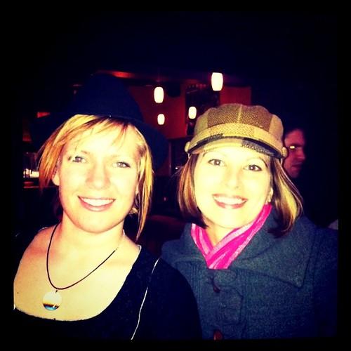 Calgary Twestival me & @Wendy #yyc #yyctwestival
