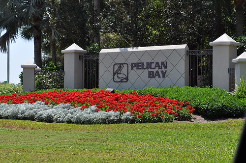 Pelican Bay - North Entrance by naplesrealestate
