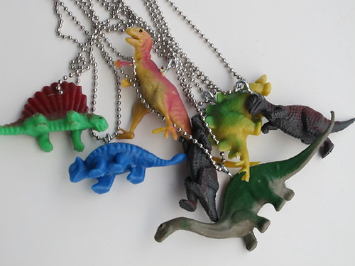 Dino-Mite necklaces