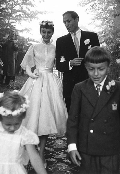 Audrey Hepburn in Balmain