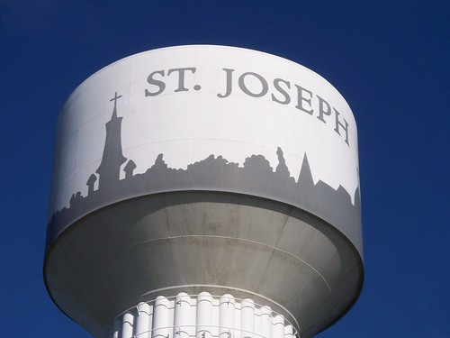 St. Joseph MN watertower