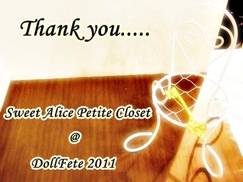 Doll Fête : Thank You