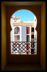 Balcón de Colores al Sur (Alberto Jiménez Rey) Tags: colour window de ventana los al sony cybershot colores alberto manuel rey lucia sur casas martinez balcon zahara tapia jimenez atunes dsct200 albjr
