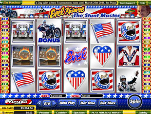 Evel Knievel slot game online review