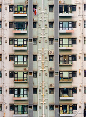 HONG KONG - Living in the hive #3 (Asier Villafranca (www.asiervillafranca.com)) Tags: home architecture hongkong asia apartment array residentialbuilding
