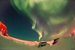DSC_1703s (savillent) Tags: new winter sky snow canada news nature night digital stars landscape lights march photo spring nikon space north nwt arctic astrophotography aurora northwestterritories wonders northernlights borealis nationalgeographic phenomenon 2011 tuktoyaktuk d300s